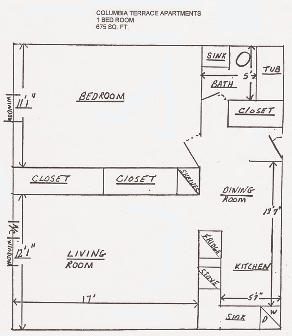 Columbia terrace floor plans shawnee properties for Columbia flooring application