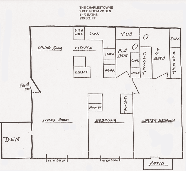 The Charlestowne Floor Plans Shawnee Properties